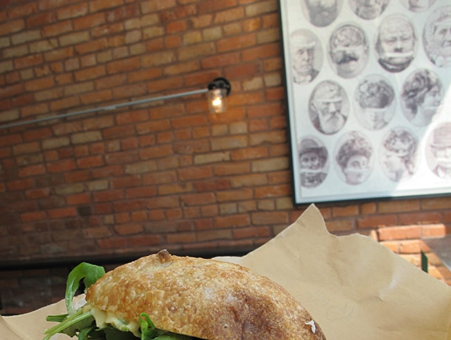 Great sandwiches at Boucherie Lawrence