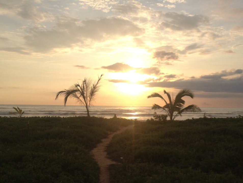 Walk From Your Room To The Beach Playa Guiones  Costa Rica