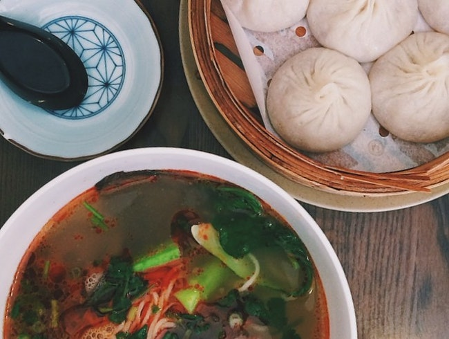 Hand-Pulled Noodles and Delicious Soup Dumplings in Midtown West