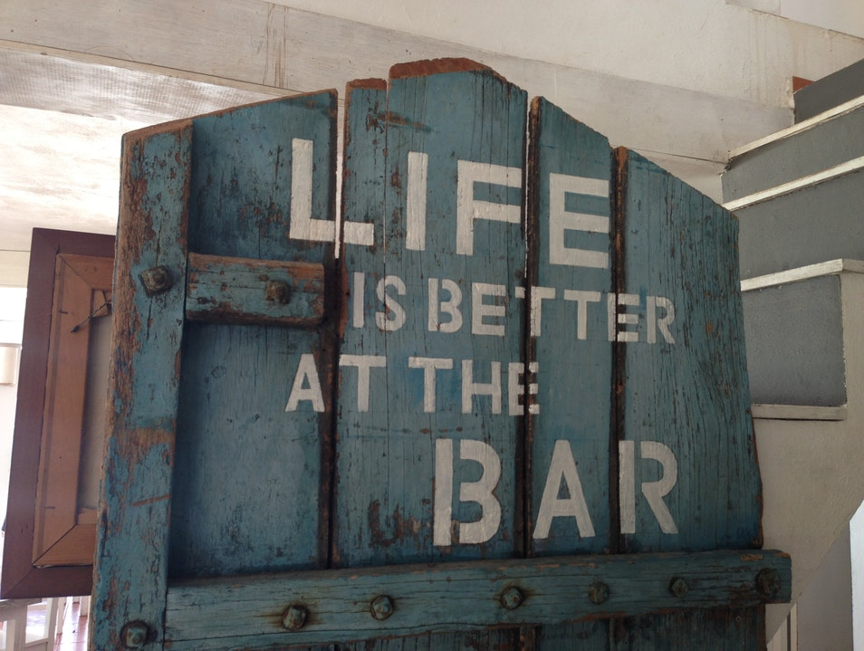 Life Is Better At The Bar  Tulum  Mexico