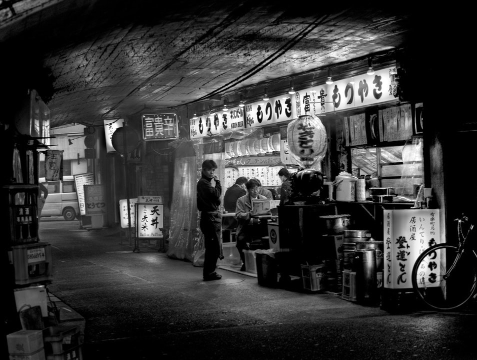 Under the Tracks Chiyoda  Japan