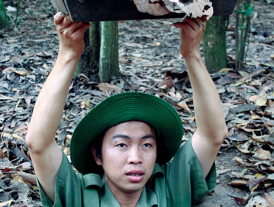 Cu Chi Tunnels - The Subterranean Labyrinth Ho Chi Minh City  Vietnam