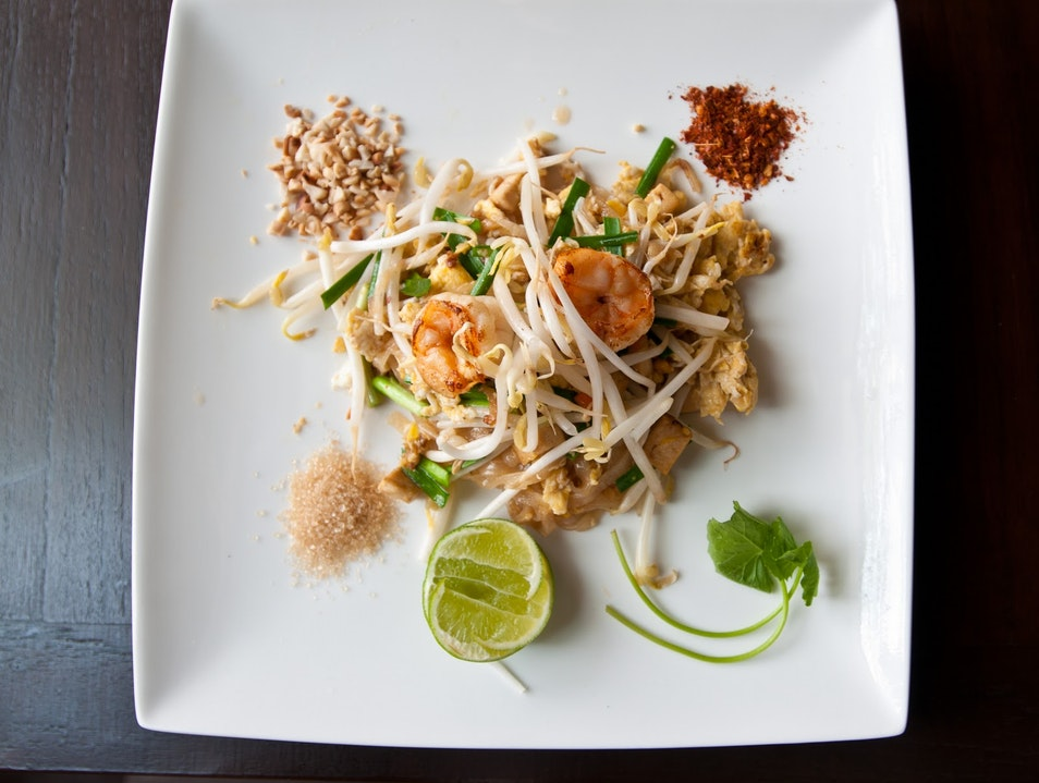 Learning to Cook a Real Pad Thai in Bangkok Bangkok  Thailand