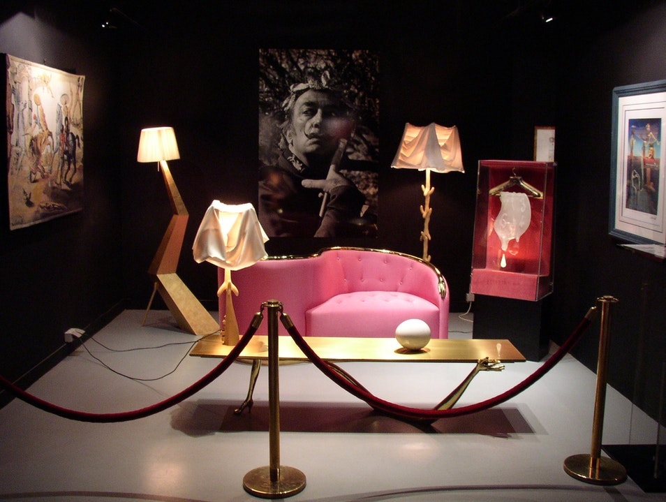 Admire Dali's 3-D surrealist art at Espace Dali Paris  France