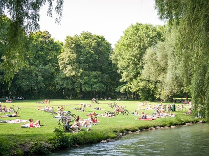 English Garden (Englischer Garten) Munich  Germany