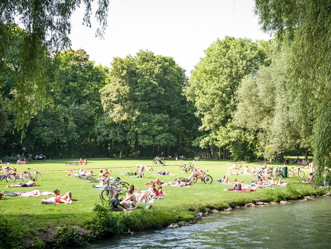 Munich's Prettiest Park