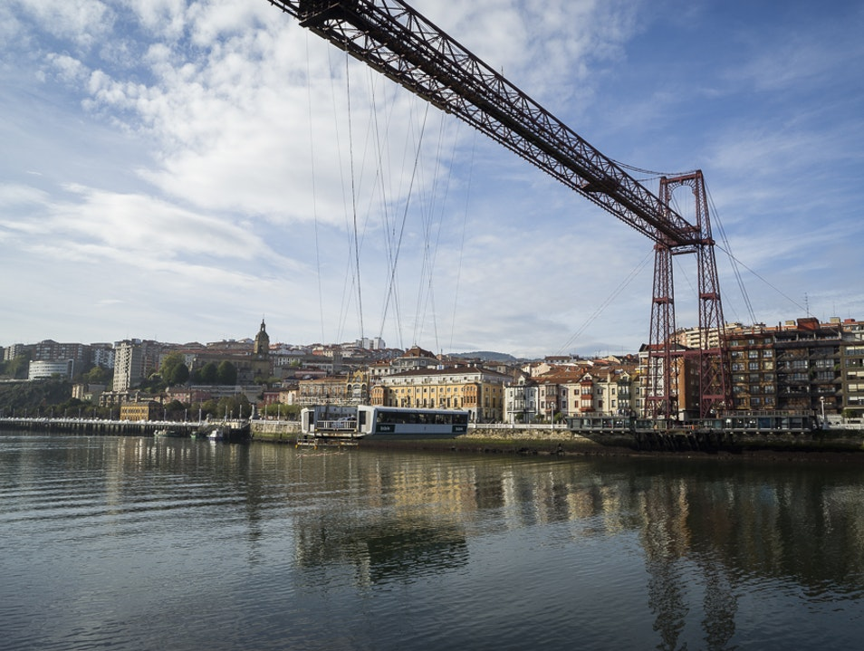 Vizcaya Bridge  Portugalete  Spain
