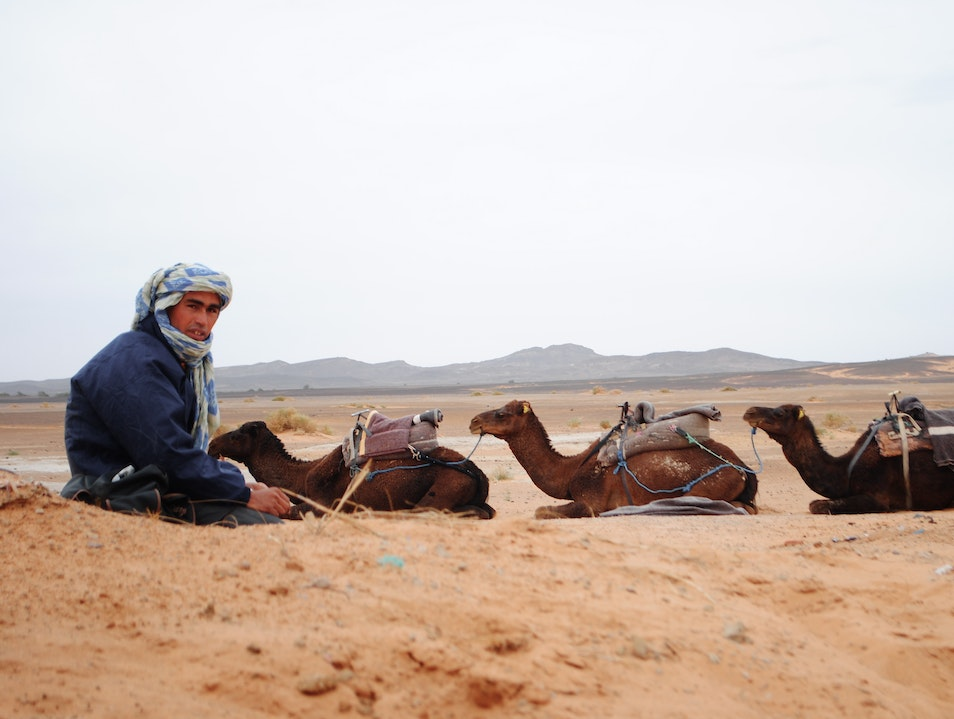 Sand in my shoes  Merzouga  Morocco