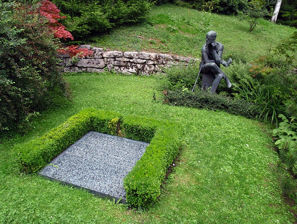 Friedhof Fluntern: Where James Joyce Rests Zurich  Switzerland