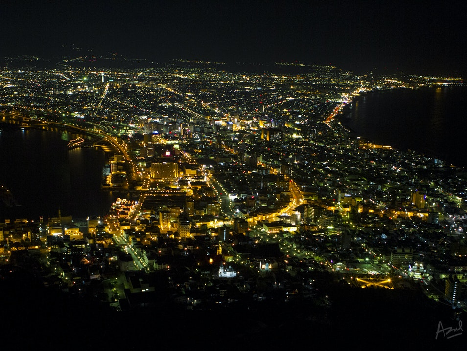 One of the 3 Best Night Views in the World* Hakodate  Japan