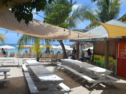Reggae Beach Bar & Grill Saint George Basseterre Parish  Saint Kitts and Nevis