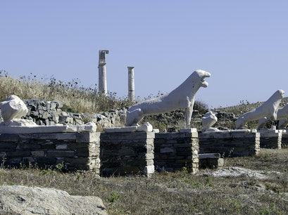 Delos Mykonos  Greece
