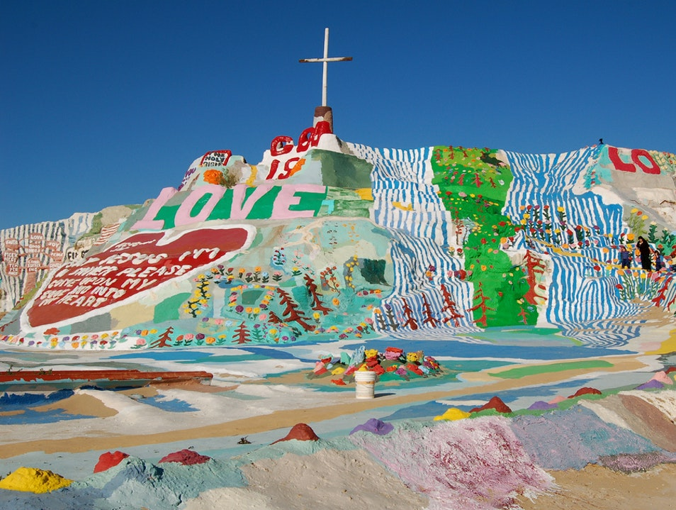 Love, Faith, and Thousands of Gallons of Paint Calipatria California United States