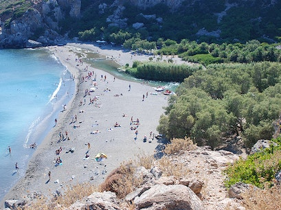 preveli beach Rethymno  Greece