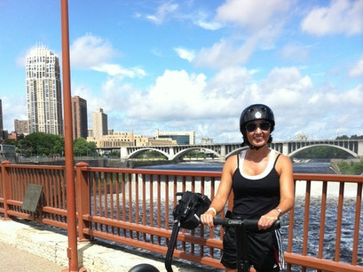 Segway Magical History Tour Minneapolis Minnesota United States