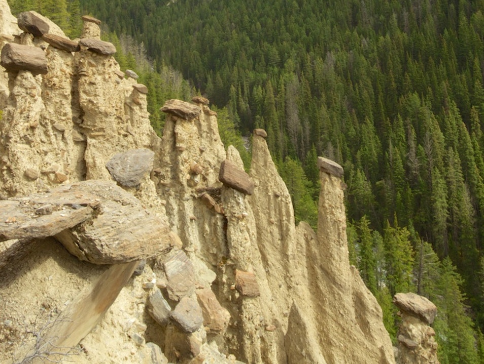 A Steep Hike For HooDoo Views Field  Canada