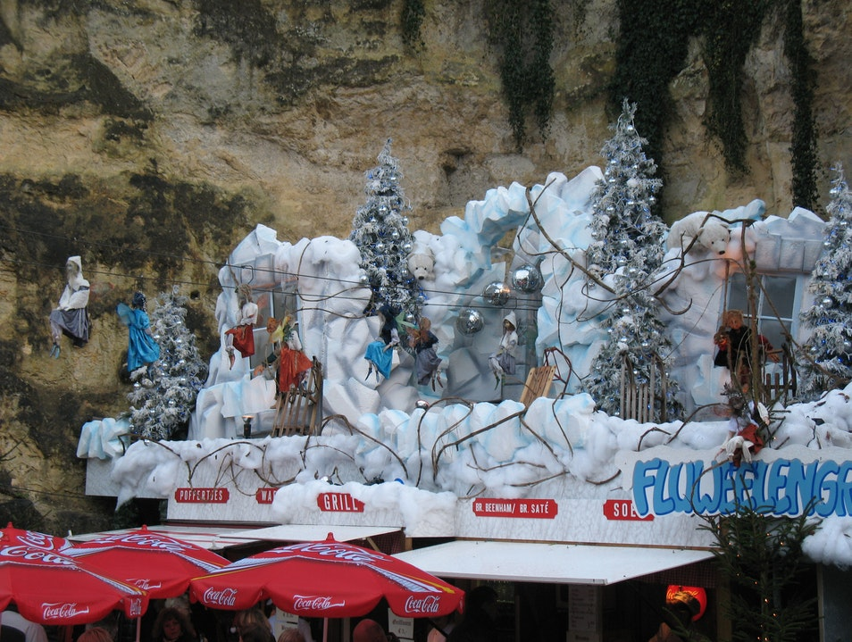 Magical Christmas Caves Valkenburg  The Netherlands