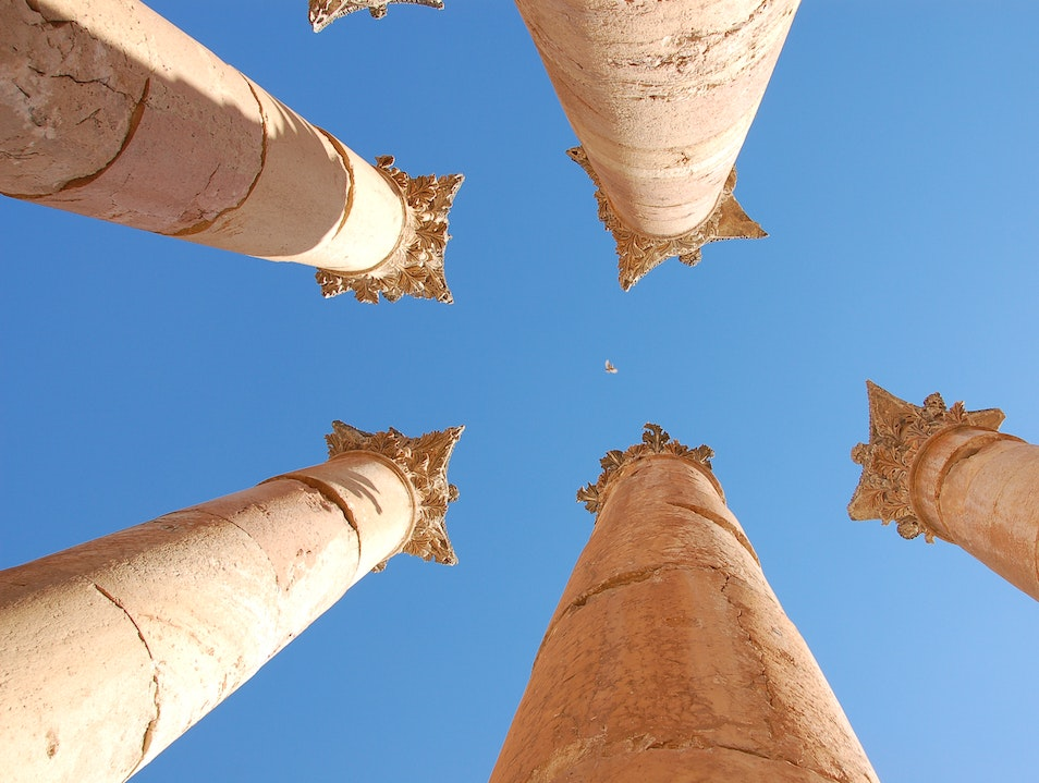 Beautiful Roman Ruins Without the Crowds Jarash  Jordan