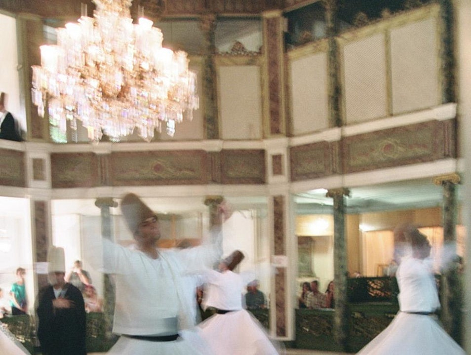 Sema—Ceremony of the Whirling Dervish Istanbul  Turkey