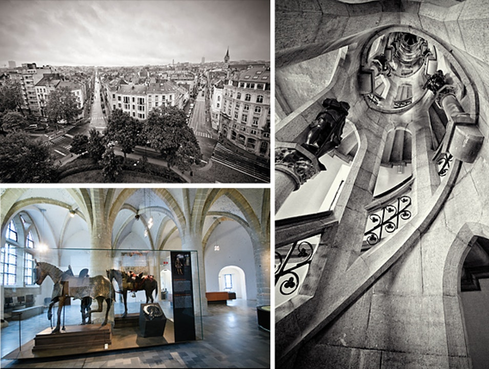 Visit a Medieval Tower in Brussels