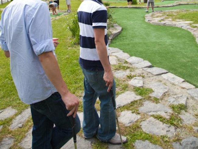Instead Of Skiing Get In Some Mini Golf In Whistler