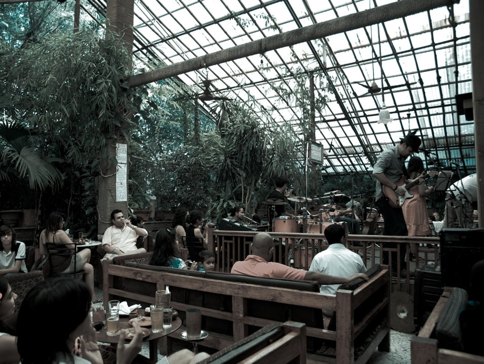 Shisha Jazz Café at ABC Farms  Pune  India