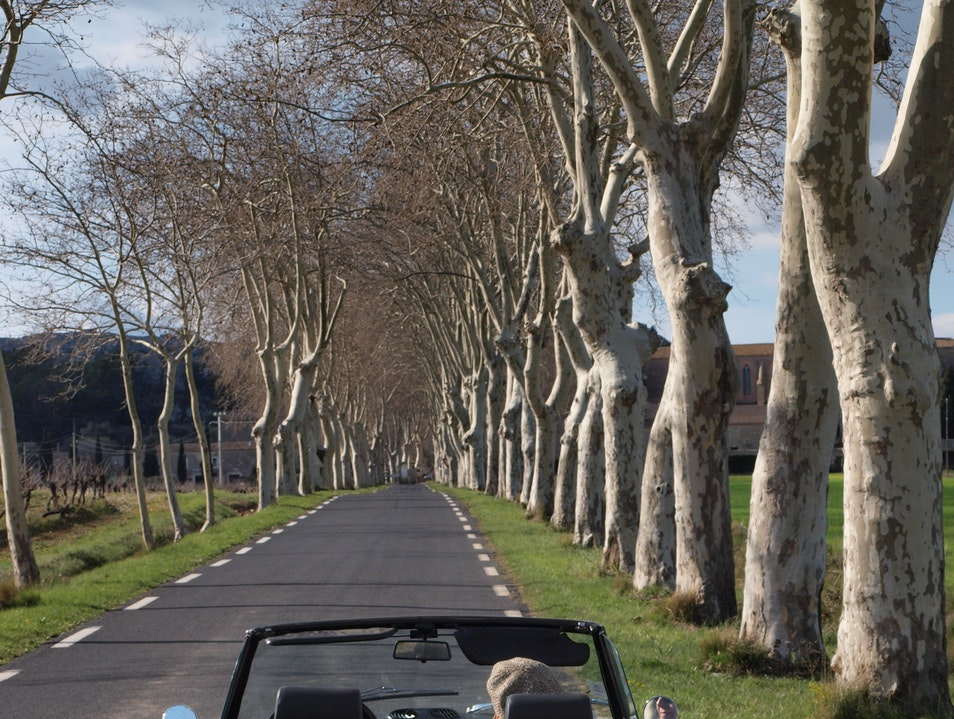 The open roads of France