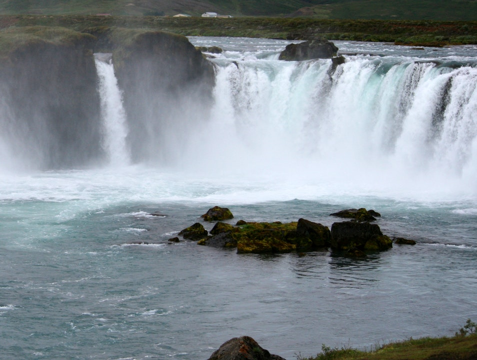 Godafoss in northeastern Iceland  Grand Island  Iceland