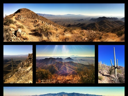 Wasson Peak, highest point in the Tucson Mountains Tucson Arizona United States