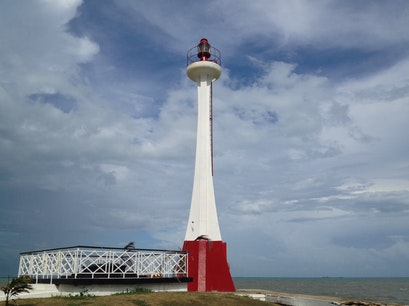 Fort Point Lighthouse Belize City  Belize