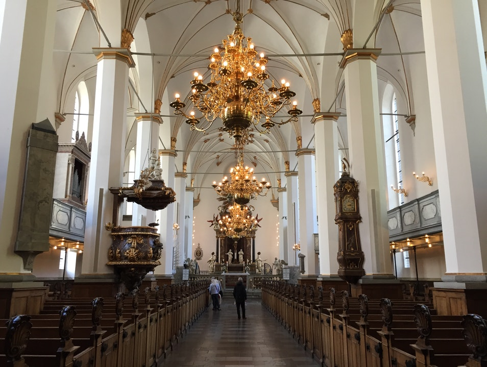 Beyond the Round Tower - The Cathedral Copenhagen  Denmark