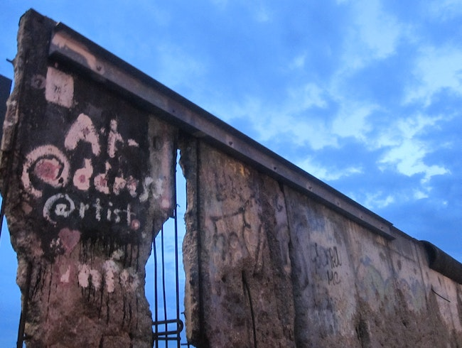 The Crumbled Berlin Wall