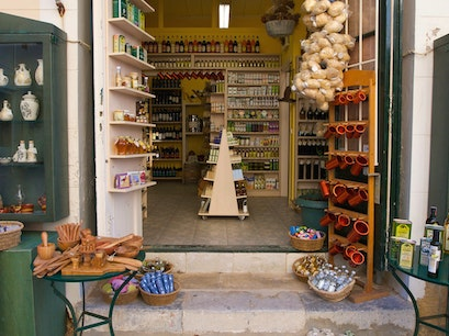 Olive Press Gift Shop  Argostoli  Greece