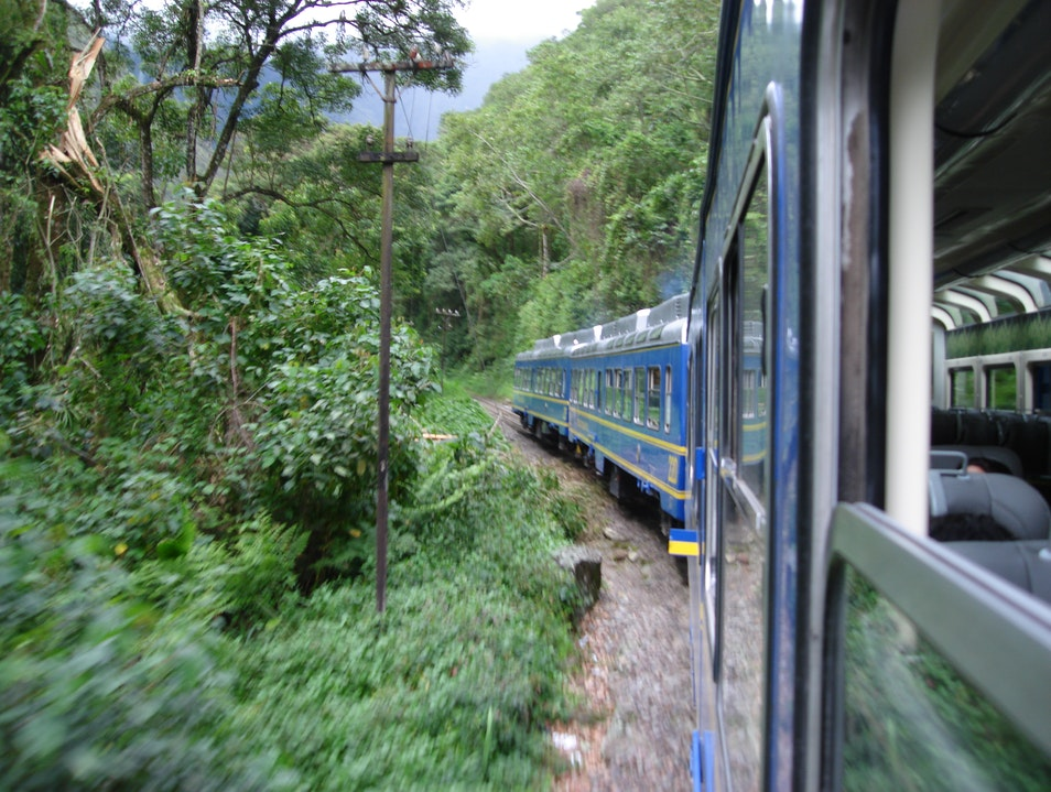 Take the train Santuario Historico Machu Picchu  Peru