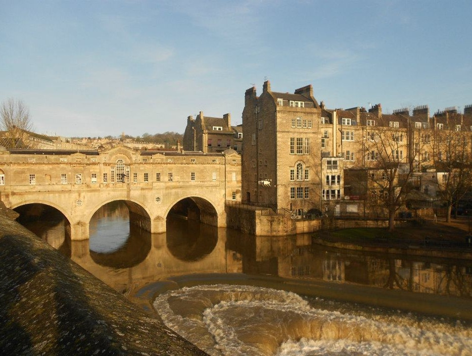 Charming Bridge Bath  United Kingdom