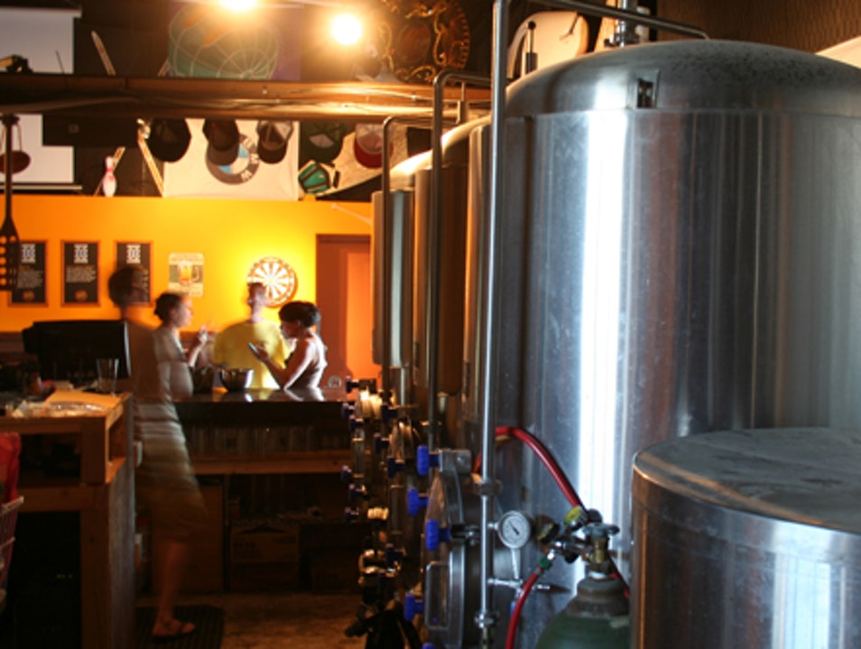 A Small Brewery with Lots of Variety
