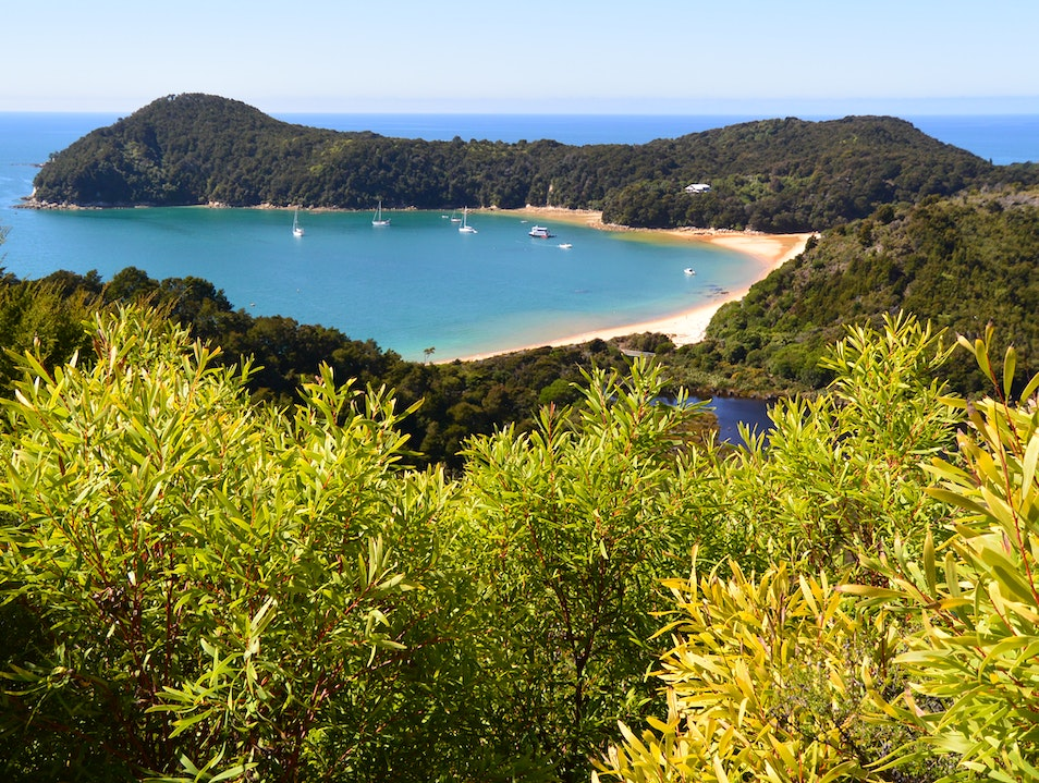 A Day Hike On The Abel Tasman Trail South Island  New Zealand