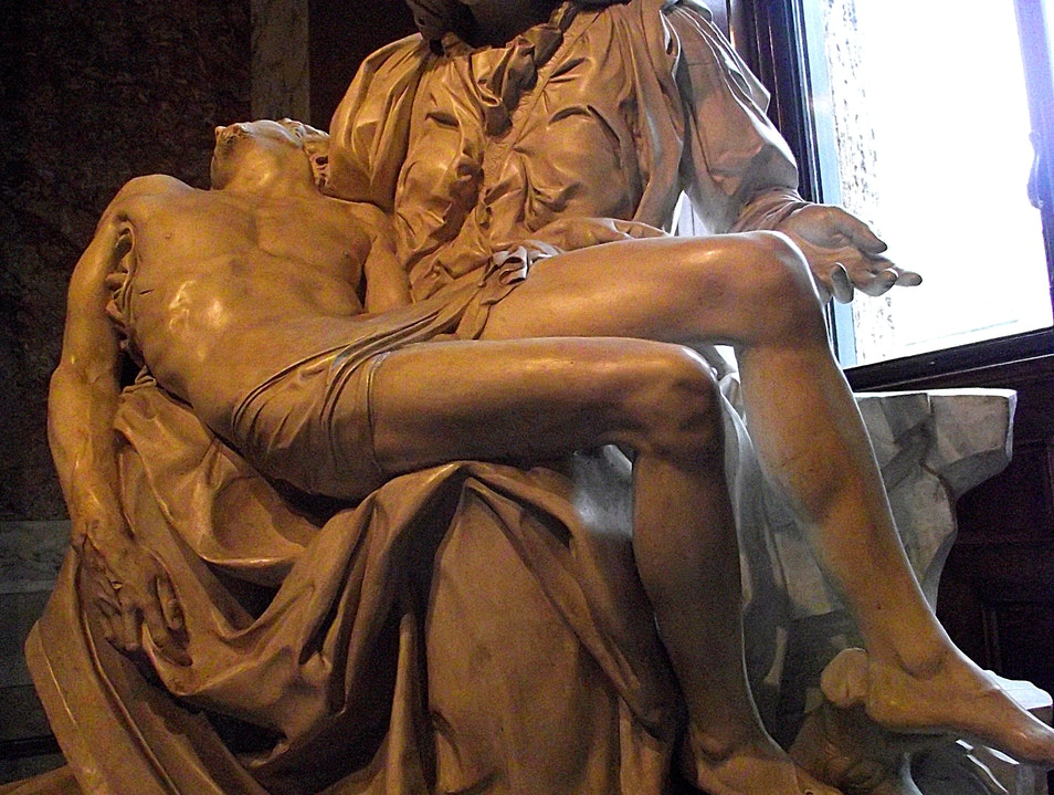 Experiences in Rome - Michelangelo's Pietà  Rome  Vatican City