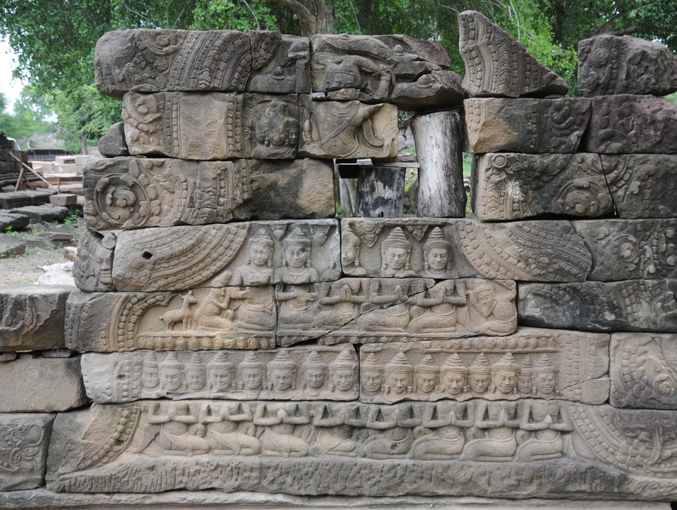 An Angkor Gem Away From the Crowds Banteay Chhmar  Cambodia