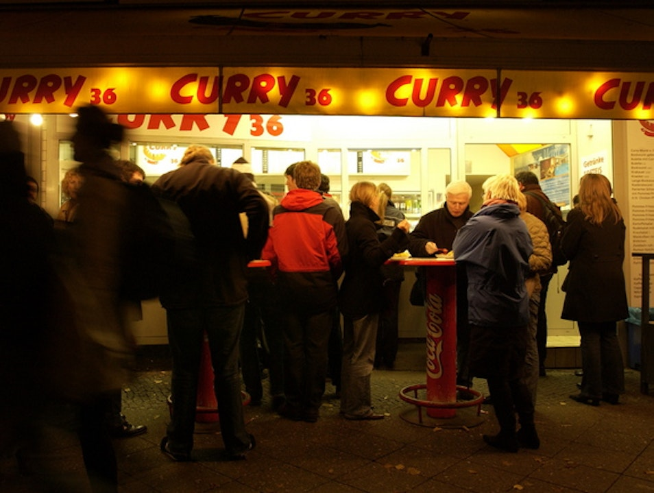 Currywurst and Beck's  - Berlin's Ubiquitous Street Food
