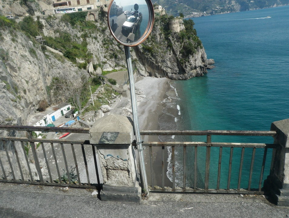 Stunning Sketchy Ride Along the Amalfi Coast