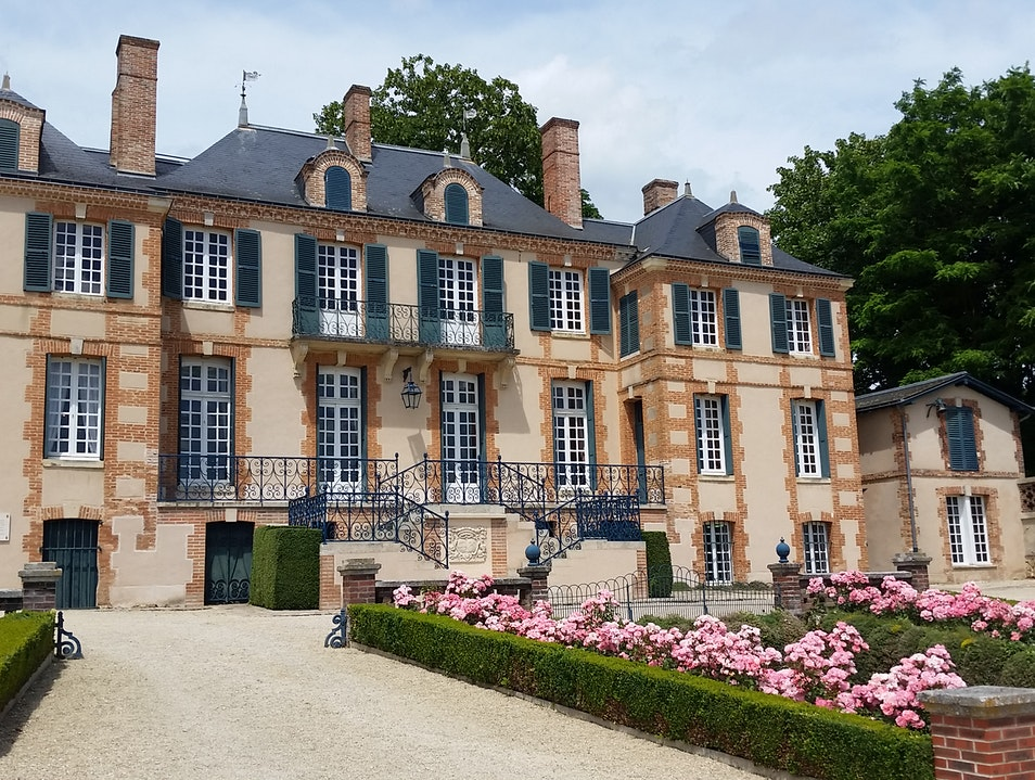 A Champagne Chateau Pierry  France