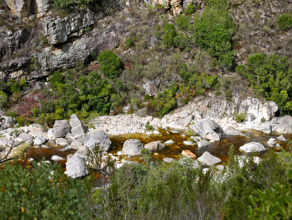 Hiking in Bainskloof Worcester  South Africa
