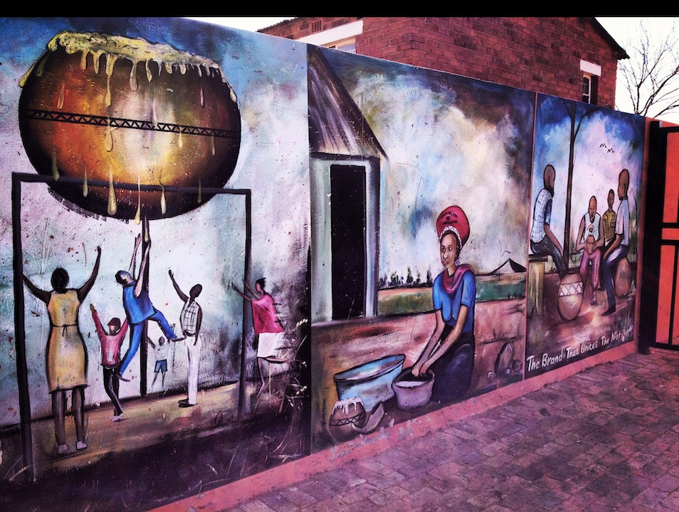 Street art of Soweto Soweto  South Africa