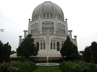 The Baha'i House of Worship Wilmette Illinois United States