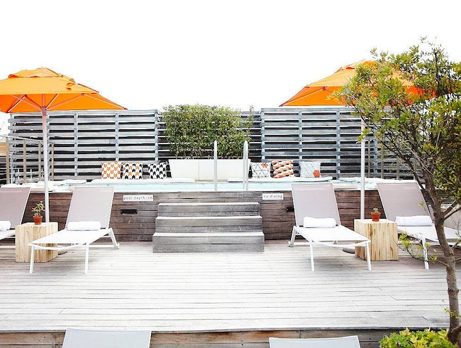 Rooftop Relaxation in Cape Town