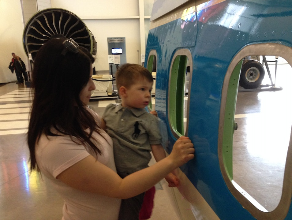 Hands on Experience with the Future of Flight Mukilteo Washington United States