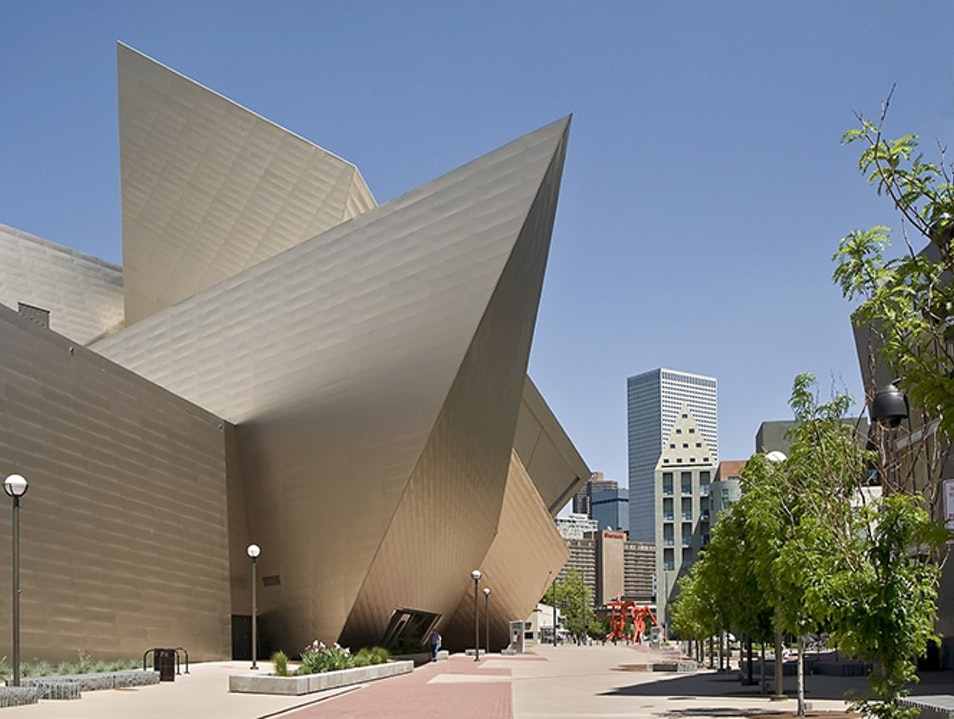 Denver Art Museum Denver Colorado United States