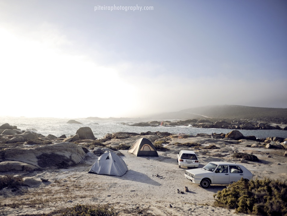 Beach Camping on SA´s West Coast Vredenburg  South Africa
