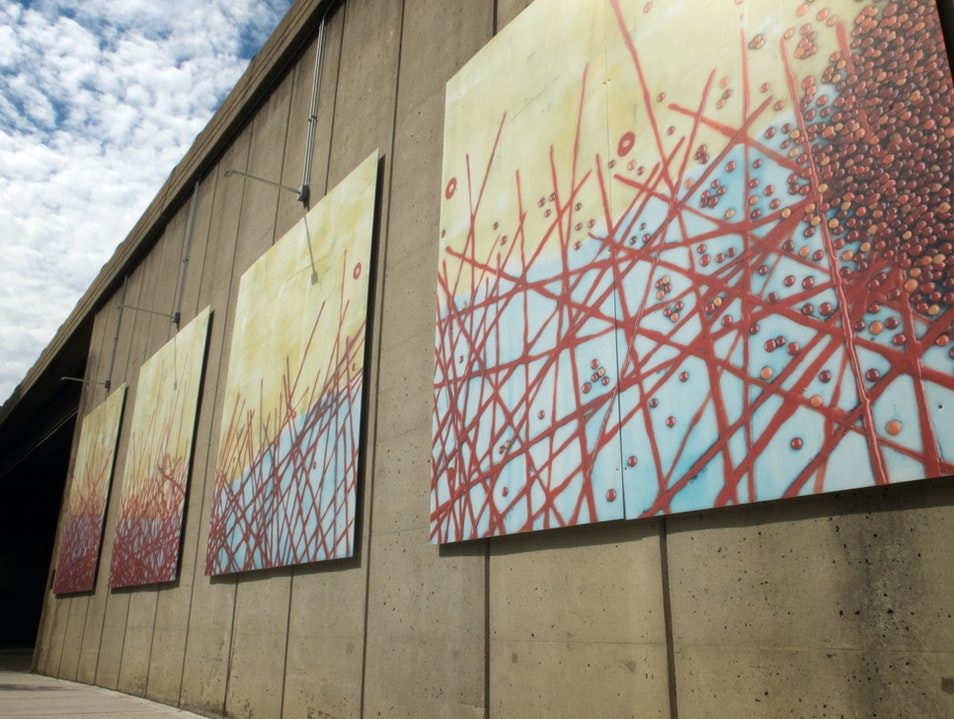 Seek Out the Art Walls of Crystal City